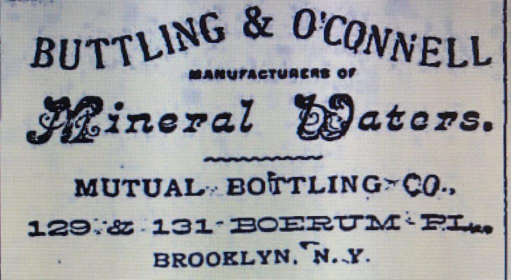 Mutual Bottling Co., 127-129 Boerum Place, Brooklyn NY, Diamond ...