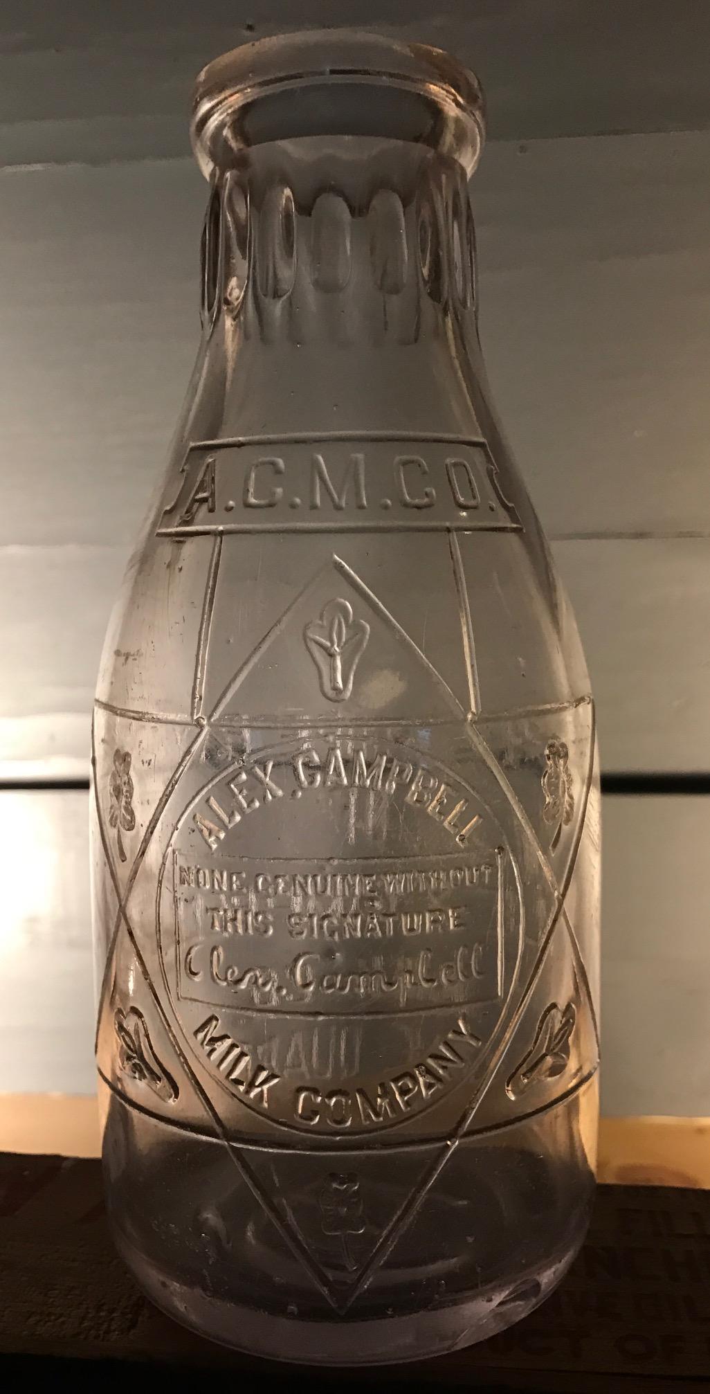 Alex Campbell Milk Company – Bay Bottles
