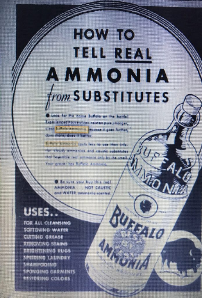Robinson Brothers, New York, Buffalo Ammonia – Bay Bottles